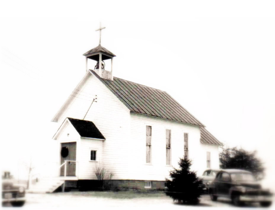 Church of St. Francis Xavier, Shafer, 1950's image
